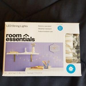Other - Room Essentials, LED string lights